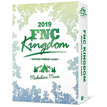 「2019 FNC KINGDOM -WINTER FOREST CAMP-」(完全生産限定盤)【3DVD】
