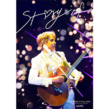 """NICHKHUN (From 2PM)「Premium Solo Concert 2019-2020 """"""""Story of...""""""""」【DVD+フォトブック】(完全生産限定盤)"""