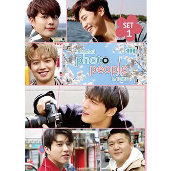 「JAEJOONG Photo People in Tokyo」DVD-SET1 限定版