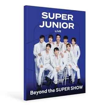 SUPER JUNIOR「BEYOND THE SUPER SHOW : BEYOND LIVE BROCHURE」写真集