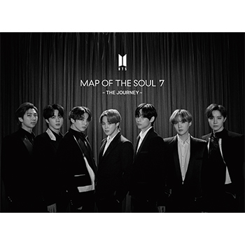 BTS「MAP OF THE SOUL : 7 ~ THE JOURNEY ~」(初回限定盤C)【CD+ブックレットA】