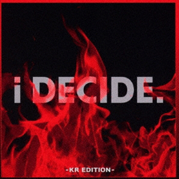 iKON「i DECIDE-KR EDITION-」(初回版)【CD+DVD】