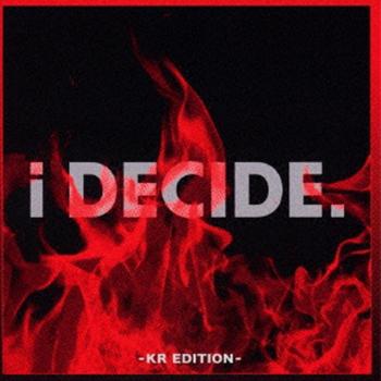 iKON「i DECIDE-KR EDITION-」(通常版)【CD】