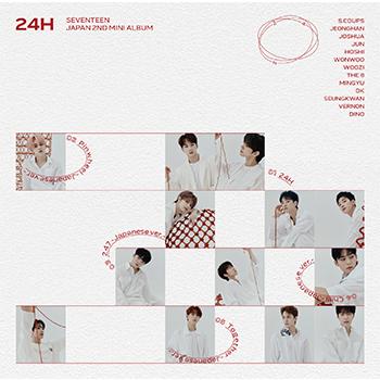 SEVENTEEN「24H」(通常盤)【CD+20P PHOTO BOOK】