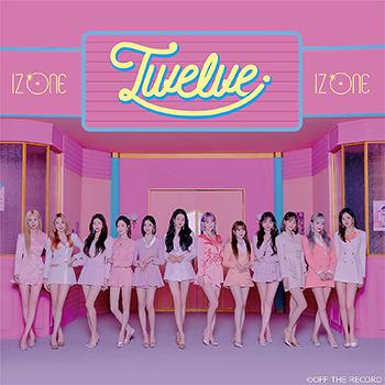 IZ*ONE「Twelve」【CD+DVD】(Type A)
