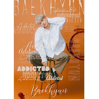 BAEKHYUN(EXO)「BAEKHYUN」(初回生産限定盤/Addicted Ver.)【CD】