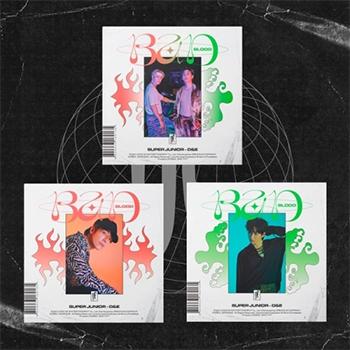 SUPER JUNIOR DONGHAE&EUNHYUK 4thMini Album「BAD BLOOD」