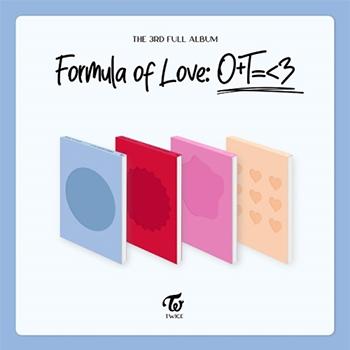 TWICE 3集「FORMULA OF LOVE: O+T=<3」