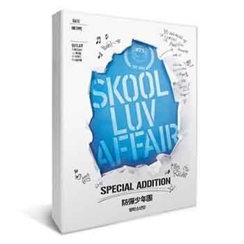 防弾少年団 2nd mini album Special Addition「SKOOL LUV AFFAIR」【CD+2DVD】※再販売※