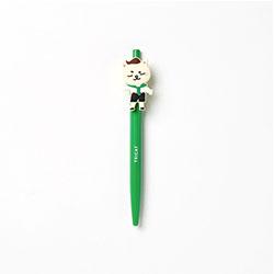 「トッケビ」公式グッズ ジェルボールペン(緑) トリキャット