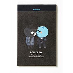 「トッケビ」公式グッズ 罫線ノートパッド(A5)  ブラッグハグ×ボグルジェルブルー