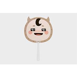 「トッケビ」公式グッズ ウチワ ver.3