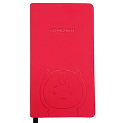 「トッケビ」公式グッズ ボグルジェル型押し手帳(ピンク)