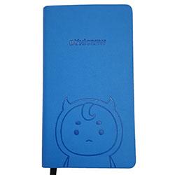 「トッケビ」公式グッズ ボグルジェル型押し手帳(ブルー)