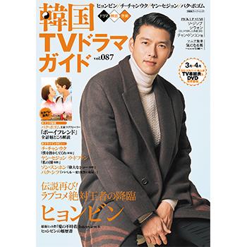韓国TVドラマガイドVol.87  表紙:ヒョンビン