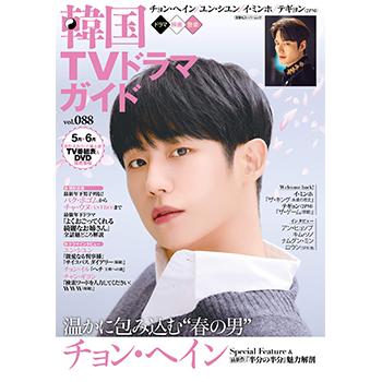 韓国TVドラマガイドVol.88  表紙:チョン・ヘイン