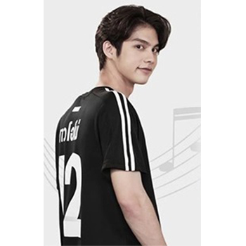【2gether 公式グッズ】Jersey Tシャツ(黒)Lサイズ ※ポストカード付き
