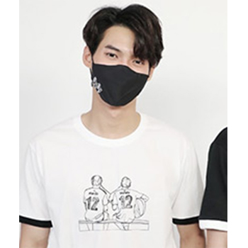【2gether 公式グッズ】TheSeries Tシャツ(白)Mサイズ