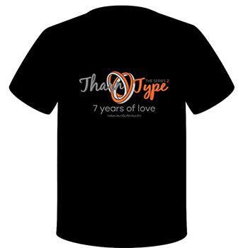 【予約販売】TharnType2公式グッズ Tシャツ(フリーサイズ)