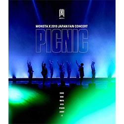 MONSTA X「MONSTA X, JAPAN FAN CONCERT 2019【PICNIC】」【ブルーレイ】