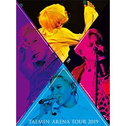 テミン(SHINee)「TAEMIN ARENA TOUR 2019 ~XTM~」(初回限定盤)【ブルーレイ】