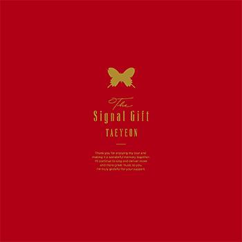 テヨン(少女時代)「The Signal Gift」(完全限定生産BOX)【Blu-ray+CD+写真集+アクリルスタンド】