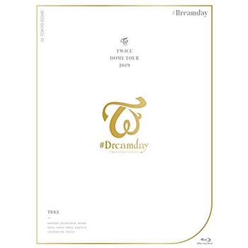 "TWICE「TWICE DOME TOUR 2019 """"#Dreamday"""" in TOKYO DOME」(初回限定盤)【Blu-ray+フォトブックレット】"