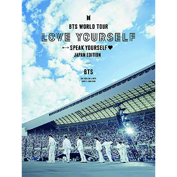 BTS「BTS WORLD TOUR 'LOVE YOURSELF: SPEAK YOURSELF' - JAPAN EDITION」(初回限定盤)【2Blu-ray】