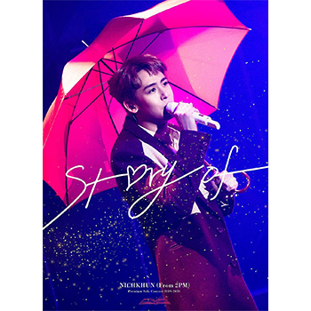 """NICHKHUN (From 2PM)「Premium Solo Concert 2019-2020 """"""""Story of...""""""""」【Blu-ray+フォトブック】(完全生産限定盤)"""