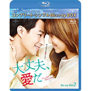 大丈夫、愛だ BD-BOX2 <コンプリート・シンプルBD‐BOX6,000円シリーズ>【期間限定生産】