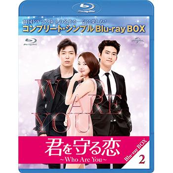 君を守る恋-Who Are You- BD-BOX2 <コンプリート・シンプルBD‐BOX6,000円シリーズ>【期間限定生産】