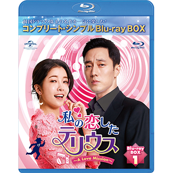私の恋したテリウス BD-BOX1 <コンプリート・シンプルBD‐BOX6,000円シリーズ>【期間限定生産】