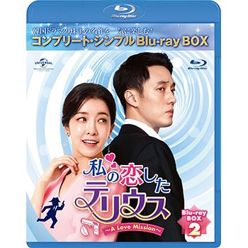 私の恋したテリウス BD-BOX2 <コンプリート・シンプルBD‐BOX6,000円シリーズ>【期間限定生産】