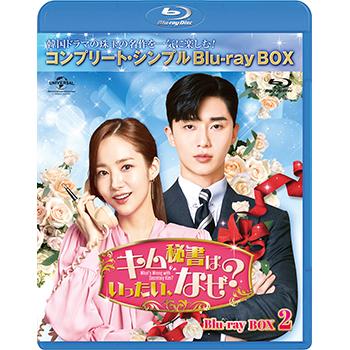 キム秘書はいったい、なぜ? BD-BOX2<コンプリート・シンプルBD‐BOX6,000円シリーズ>【期間限定生産】