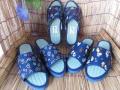 気持ちよさ や・み・つ・き・♪純国産品「古都ゆき和心」婦人い草 畳サンダル 藍染め