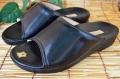 通販でも大人気♪履き心地最重視!日本製女性用 らくらくフィットサンダル 黒