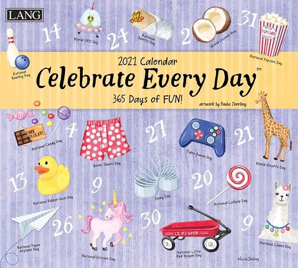 2021年ラングカレンダー「Celebrate Every Day」