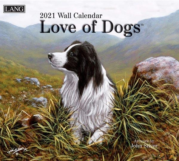 2021年ラングカレンダー「Love of Dogs」