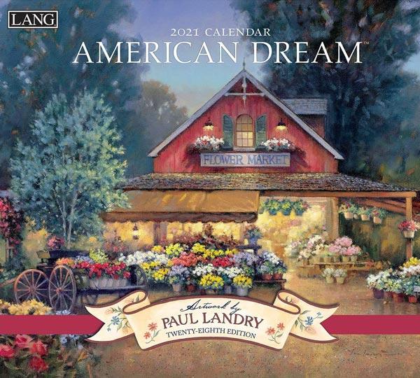 2021年ラングカレンダー「AMERICAN DREAM」