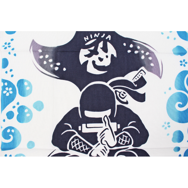 kenema 気音間手拭い 蝦蟇忍者