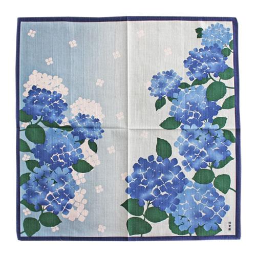 小布「あじさいの花/ブルー」