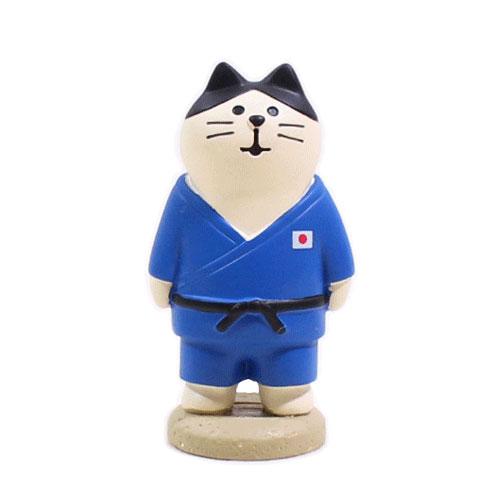 まったりスポーツフェスティバル アスリート猫・柔道猫