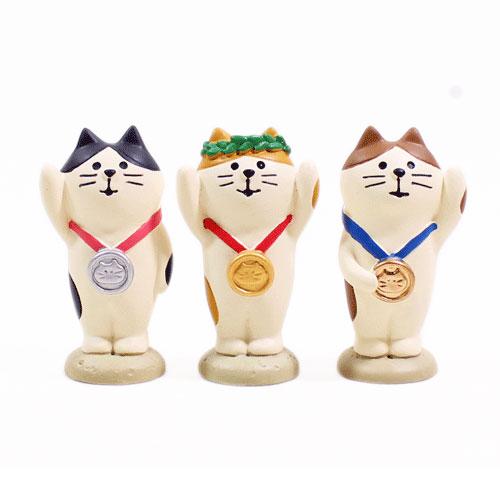 まったりスポーツフェスティバル メダル猫