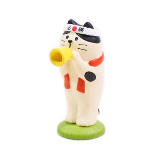 まったりスポーツフェスティバル メガホン猫