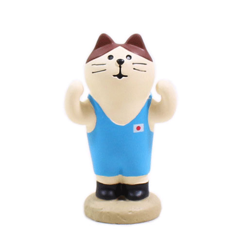 まったりスポーツフェスティバル アスリート猫・レスリング猫