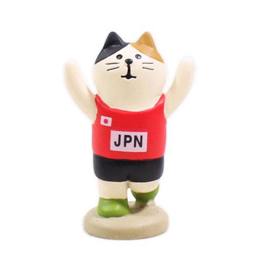まったりスポーツフェスティバル アスリート猫・陸上猫