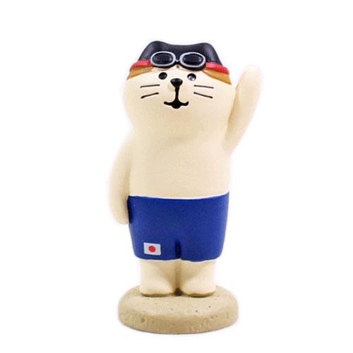 まったりスポーツフェスティバル アスリート猫・水泳猫