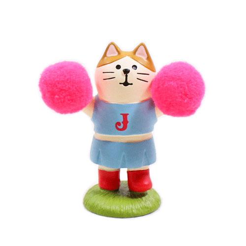 まったりスポーツフェスティバル チアリーダー猫