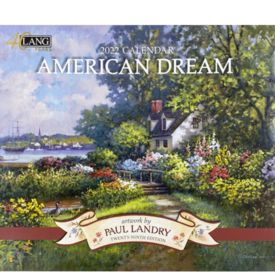 2022年ラングカレンダー「AMERICAN DREAM」