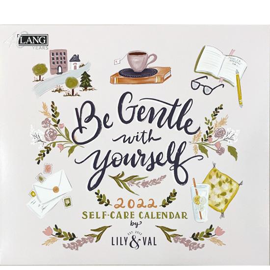 2022年ラングカレンダー「Be Gentle with Yourself」